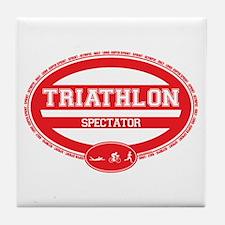 Triathlon Oval - Women's Spectator Tile Coaster
