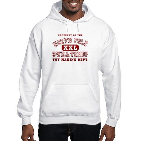 Property of the North Pole Hooded Sweatshirt
