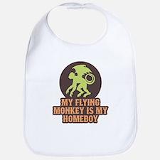 My Flying Monkey Is My Homeboy Bib