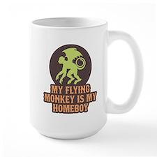 My Flying Monkey Is My Homeboy Mug