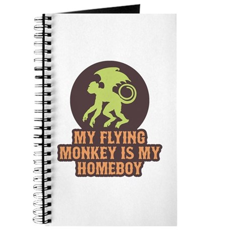 My Flying Monkey Is My Homeboy Journal