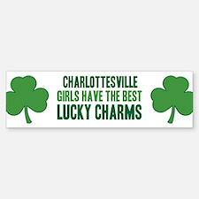 Charlottesville lucky charms Bumper Bumper Bumper Sticker