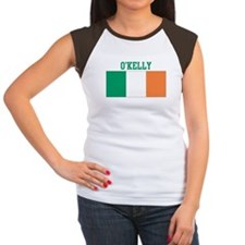 OKelly (ireland flag) Women's Cap Sleeve T-Shirt