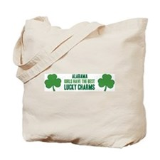 Alabama lucky charms Tote Bag