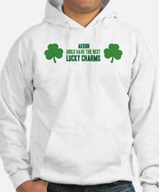 Akron lucky charms Hoodie