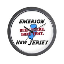 emerson new jersey - been there, done that Wall Cl