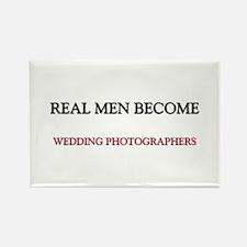 Real Men Become Wedding Photographers Rectangle Ma