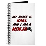 my name is karl and i am a ninja Journal