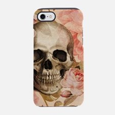 Vintage Rosa Skull Collage iPhone 7 Tough Case