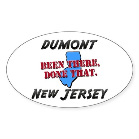 dumont new jersey - been there, done that Sticker