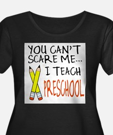 Preschool Teacher Plus Size T-Shirt
