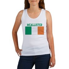 McAllister (ireland flag) Women's Tank Top