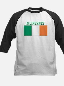 McInerney (ireland flag) Kids Baseball Jersey