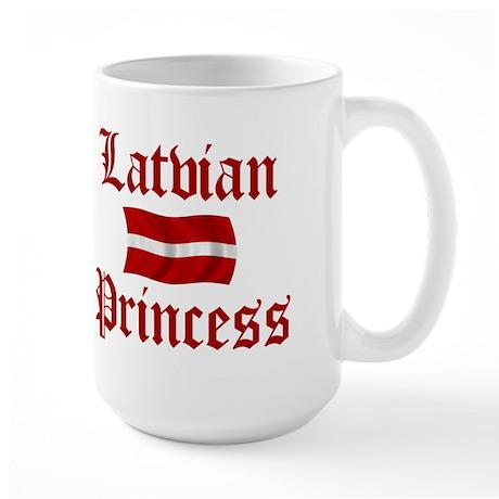 Latvian Princess Large Mug