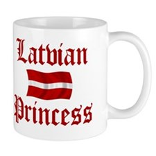 Latvian Princess Mug