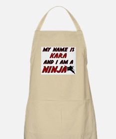 my name is kara and i am a ninja BBQ Apron