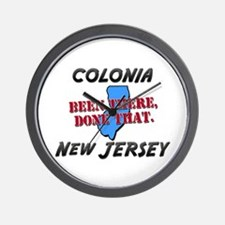 colonia new jersey - been there, done that Wall Cl