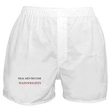 Real Men Become Wainwrights Boxer Shorts