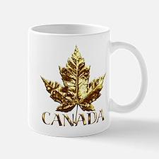Gold Canada Souvenir Mug