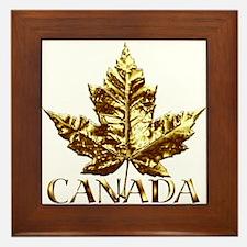 Metal Canada Framed Tile