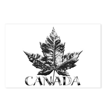 Metal Canada Postcards (Package of 8)