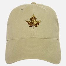 Canada Baseball Baseball Cap Gold Maple Leaf Baseball Baseball Caps & Hats