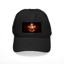 Canada Baseball Cap Gold Maple Leaf Canada Cap