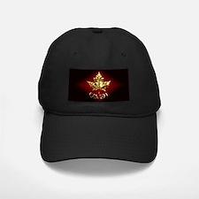 Canada Black Cap Gold Maple Leaf Canada Cap