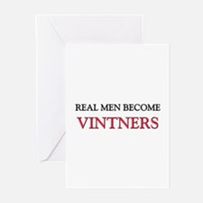 Real Men Become Vintners Greeting Cards (Pk of 10)