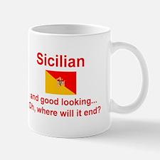 Good Looking Sicilian Mug