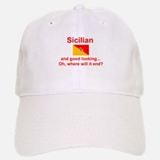 Good Looking Sicilian Baseball Baseball Cap