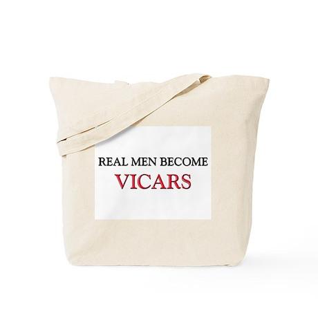 Real Men Become Vicars Tote Bag