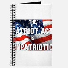 Patriot Act is Unpatriotic Journal