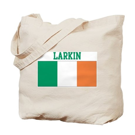 Larkin (ireland flag) Tote Bag
