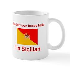 Sicilian Bocce Balls Small Mug