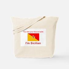 Sicilian Bocce Balls Tote Bag
