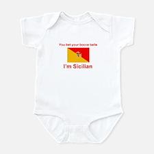 Sicilian Bocce Balls Infant Bodysuit