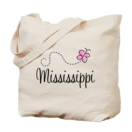 Pretty Mississippi Tote Bag