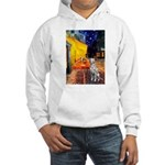 Cafe / Dalmatian #1 Hooded Sweatshirt