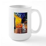 Cafe / Dalmatian #1 Large Mug