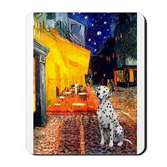 Cafe / Dalmatian #1 Mousepad