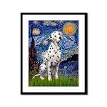 Starry / Dalmatian #1 Framed Panel Print