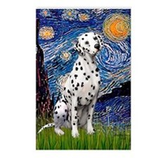 Starry / Dalmatian #1 Postcards (Package of 8)