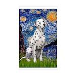 Starry / Dalmatian #1 Sticker (Rectangle)