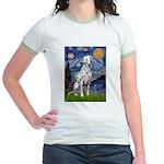 Starry / Dalmatian #1 Jr. Ringer T-Shirt