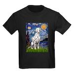 Starry / Dalmatian #1 Kids Dark T-Shirt