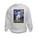 Starry / Dalmatian #1 Kids Sweatshirt