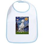 Starry / Dalmatian #1 Bib