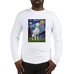 Starry / Dalmatian #1 Long Sleeve T-Shirt