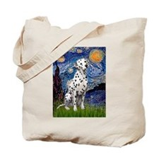Starry / Dalmatian #1 Tote Bag